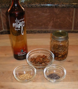Pecan Infused Tequila